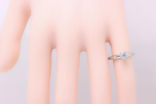 E I1 Round Solitaire 0.45 Cts 14k White Gold Engagement Ring Image 6