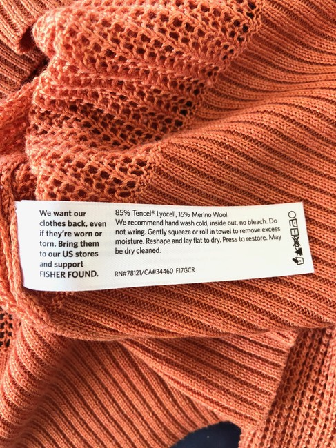 Eileen Fisher Fall Open Weave V-neck Spring Sweater Image 2