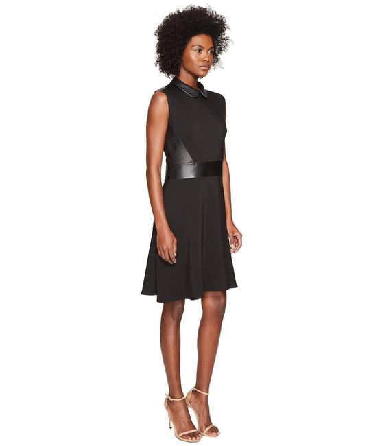 Preload https://img-static.tradesy.com/item/23998313/the-kooples-black-leather-collared-mid-length-short-casual-dress-size-6-s-0-0-650-650.jpg
