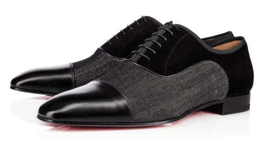 Preload https://img-static.tradesy.com/item/23998317/christian-louboutin-black-mens-platers-flat-calf-leather-dress-lace-up-shoes-0-1-540-540.jpg