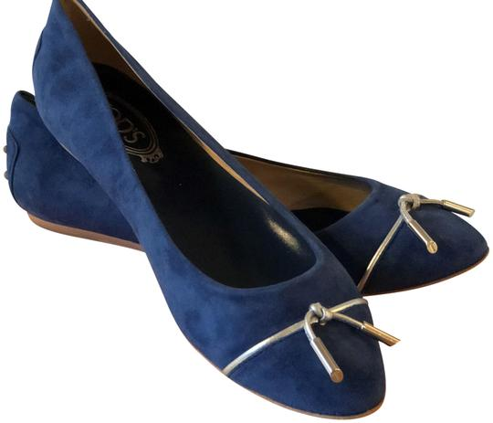 Tod's Blue Flats Image 0