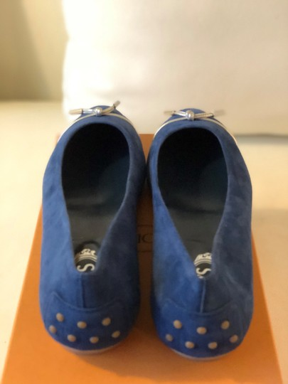 Tod's Blue Flats Image 3