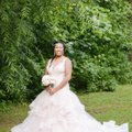 From Bridals By Lori Formal Wedding Dress Size 14 (L)