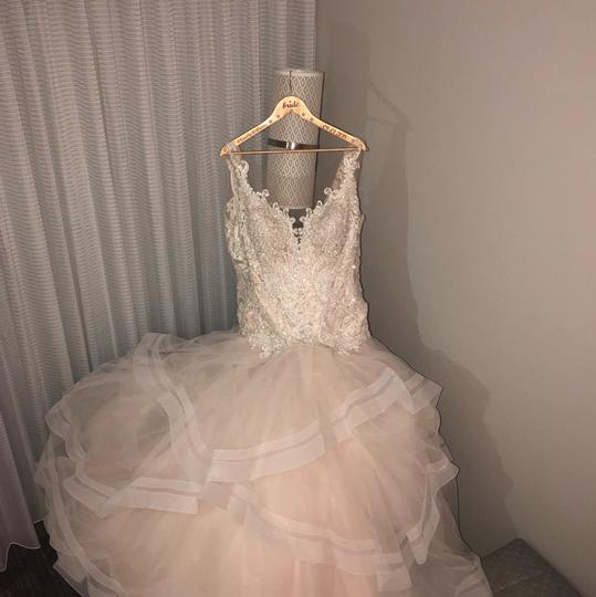 From Bridals By Lori Formal Wedding Dress Size 14 (L) Image 2
