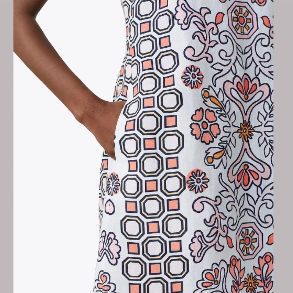 50841b96a9295 Tory Burch Hicks Garden Party Mini Cover-up Short Casual Dress Size 2 (XS)  - Tradesy