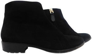 Giuseppe Zanotti Suede Pointed Toe Ankle black Boots