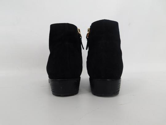 Giuseppe Zanotti Suede Pointed Toe Ankle black Boots Image 2