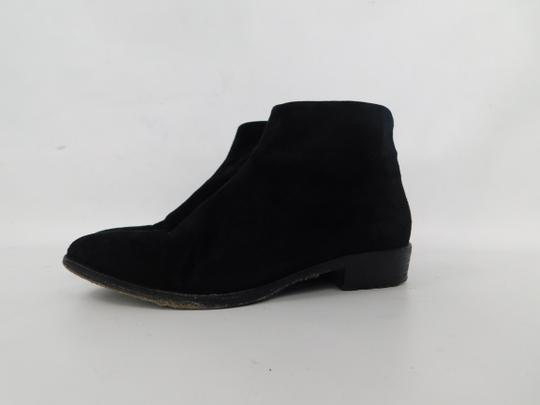 Giuseppe Zanotti Suede Pointed Toe Ankle black Boots Image 3