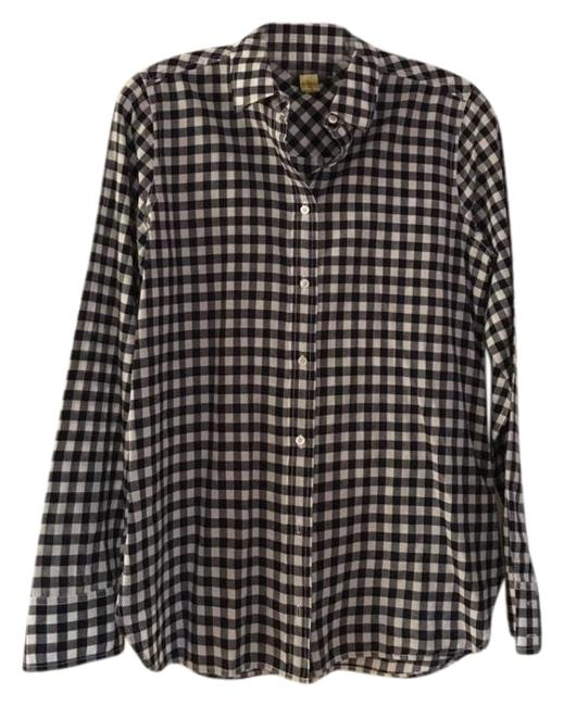 Preload https://img-static.tradesy.com/item/23998656/jcrew-navy-and-white-gingham-boy-shirt-button-down-top-size-2-xs-0-1-650-650.jpg