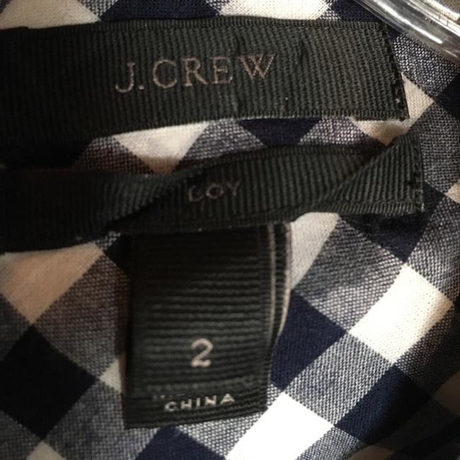 J.Crew Button Down Shirt navy and white