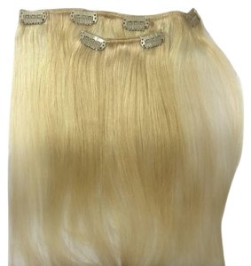Clip In Streaks 2 Piece Clip In Hair Extension Streaks Blonde 24g