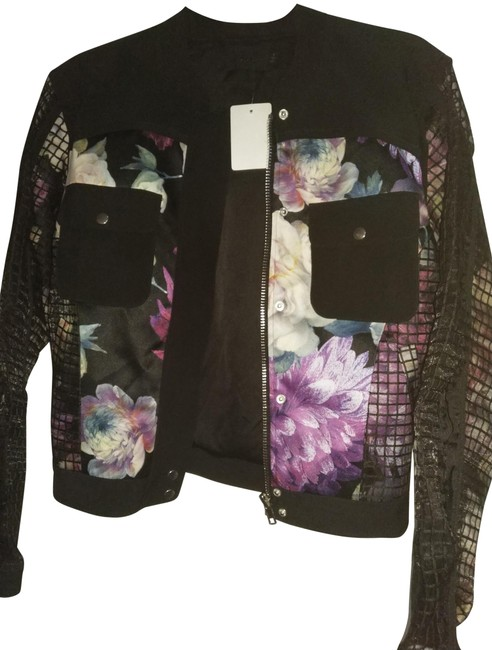 Preload https://img-static.tradesy.com/item/23998818/nbd-black-multiple-s-zipped-front-with-floral-print-jacket-size-6-s-0-1-650-650.jpg