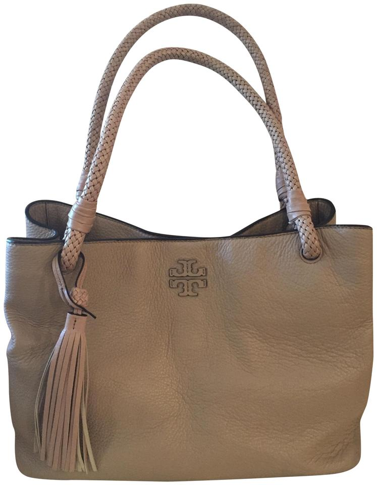 bd8644b23ef Tory Burch Taylor Triple Compartment Soft Clay 273 Leather Tote ...