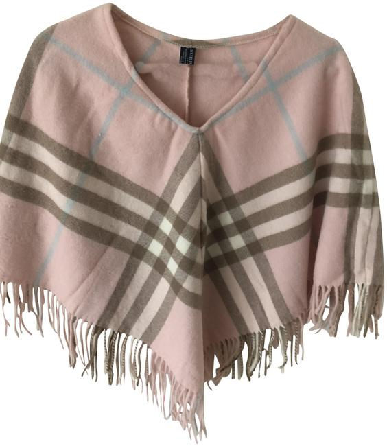 Preload https://img-static.tradesy.com/item/23998878/burberry-beige-pink-blue-supernova-check-ponchocape-size-os-one-size-0-1-650-650.jpg