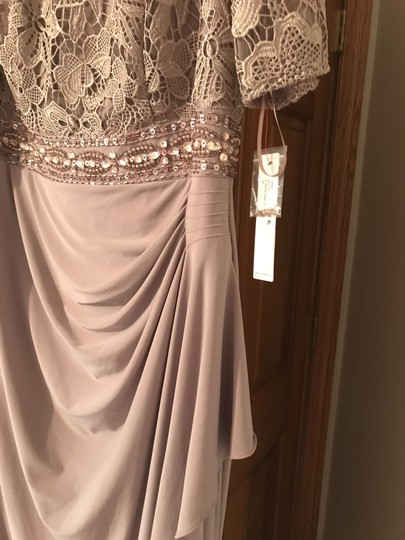 Decode 1.8 Mauve 184586 Formal Bridesmaid/Mob Dress Size 16 (XL, Plus 0x)