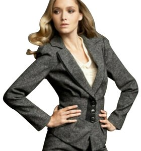 Nanette Lepore tweed pantsuit Baskerville with ribbon trim 016-2739