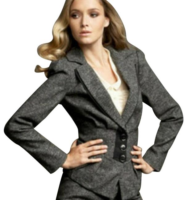 Preload https://img-static.tradesy.com/item/23998915/nanette-lepore-black-white-grey-tweed-baskerville-with-ribbon-trim-016-2739-pant-suit-size-8-m-0-3-650-650.jpg