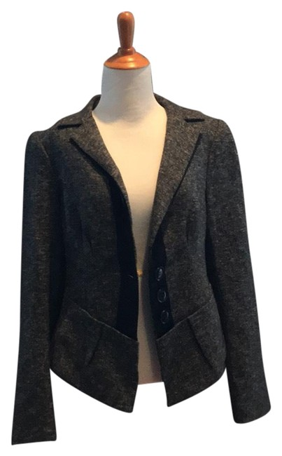 Nanette Lepore tweed pantsuit Baskerville with ribbon trim 016-2739 Image 1