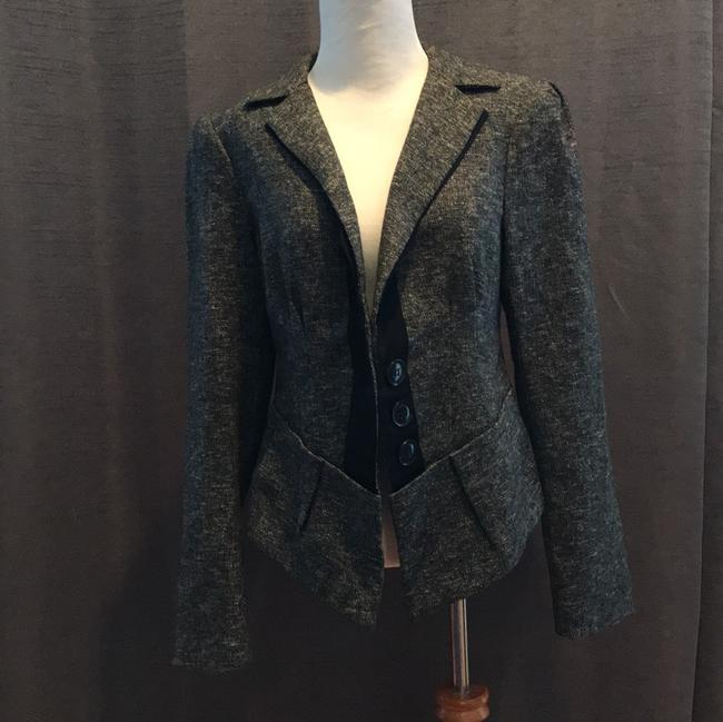 Nanette Lepore tweed pantsuit Baskerville with ribbon trim 016-2739 Image 4