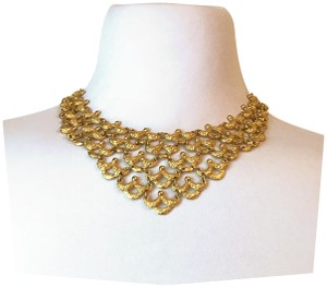 MONET 1963 Monet Bib Necklace- Ad feature!
