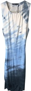 Gypsy05 short dress Multi Tiedye Ombre Open Back High Low Bamboo on Tradesy