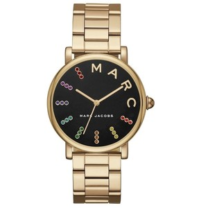 Marc Jacobs NWT Classic Gold-Tone Three-Hand Watch MJ3567