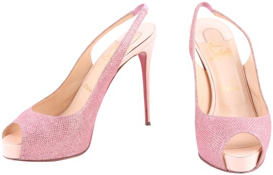 Preload https://img-static.tradesy.com/item/23998997/christian-louboutin-pink-glitter-hyper-prive-slingback-pumps-size-us-8-regular-m-b-0-1-540-540.jpg