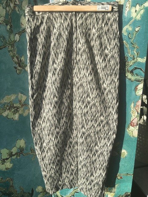 Torn by Ronny Kobo Pencil Waisted Skirt Black and Off White