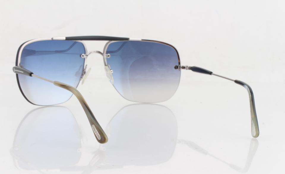 7eeb7be091 Tom Ford Tom Ford Blue Smoke Gradient Nils FT0380 Sunglasses Image 11.  123456789101112