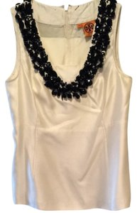 Tory Burch Top Cream and Black