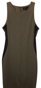 Kardashian Kollection short dress olive on Tradesy