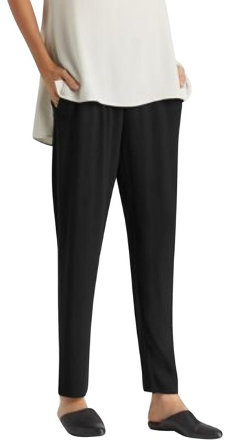 Preload https://img-static.tradesy.com/item/23999209/eileen-fisher-black-satin-slouchy-capricropped-pants-size-16-xl-plus-0x-0-2-650-650.jpg