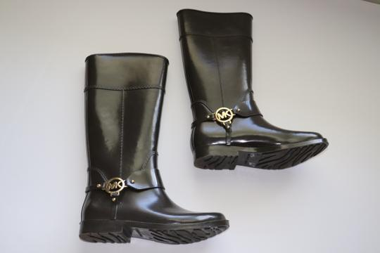 Michael Kors Rain Rubber Brown Boots