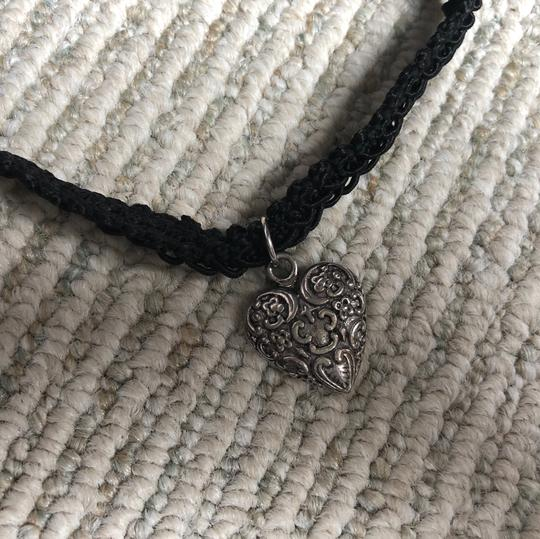 Limited Too The Limited Too Antique Heart Choker Necklace