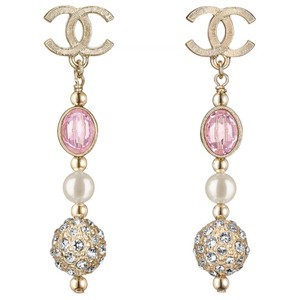 Chanel Authentic 2016 Chanel Dangling Earring Dro