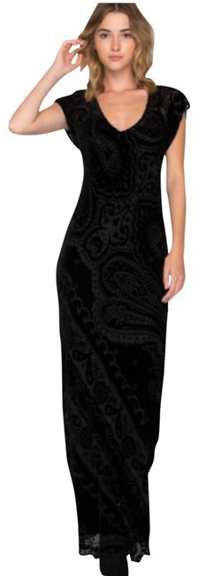 Preload https://img-static.tradesy.com/item/23999301/johnny-was-paisley-velvet-long-cocktail-dress-size-4-s-0-1-650-650.jpg