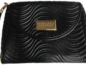 a07f1d26a052 Versace Signature Hardware Wristlet in Black