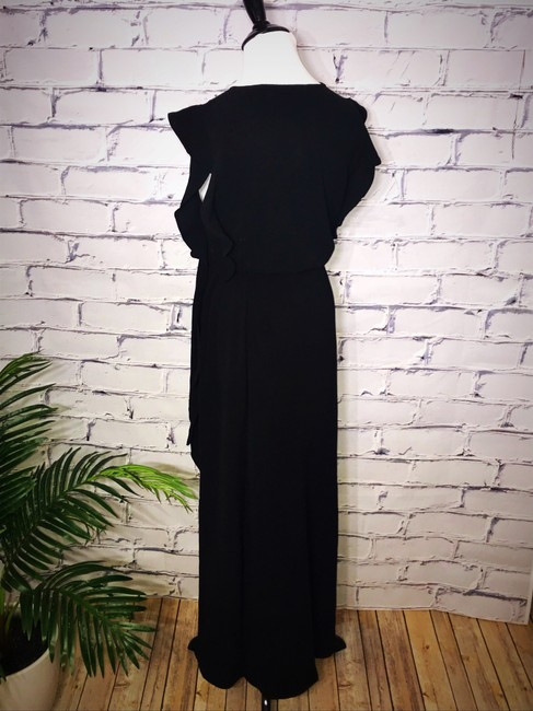 Black Maxi Dress by Umgee Maxi Ruffle Tie Waist