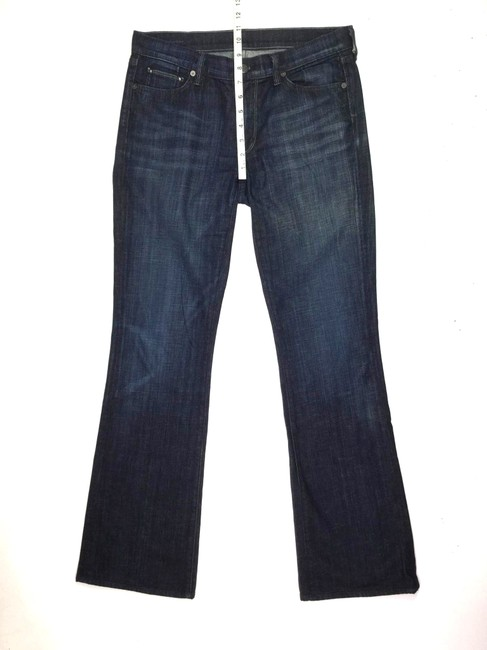 7 Seven for All Mankind J071818-35 Size 30 Boot Cut Jeans-Medium Wash
