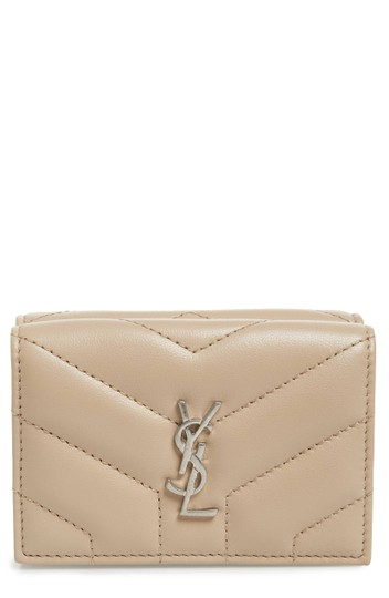 Preload https://img-static.tradesy.com/item/23999432/saint-laurent-dark-beige-monogram-loulou-new-matelasse-leather-wallet-0-0-540-540.jpg