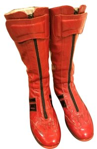 Made in Italy red Boots