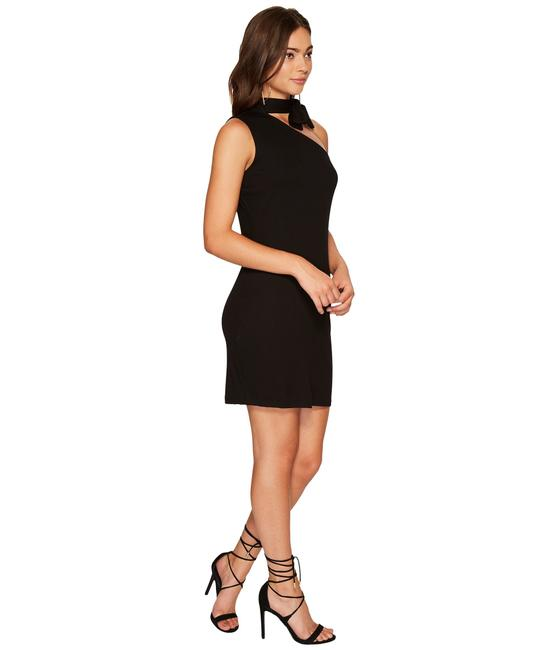 Preload https://img-static.tradesy.com/item/23999500/1state-black-women-s-one-shoulder-tie-rich-mid-length-cocktail-dress-size-16-xl-plus-0x-0-0-650-650.jpg