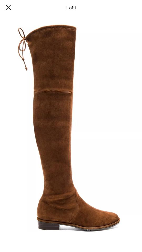 lady Boots/Booties Stuart Weitzman Walnut/Brown Lowland Boots/Booties lady Attractive and durable 694950