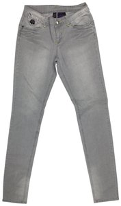 House of Deréon J042518-46 Size 5/6 Skinny Jeans-Light Wash