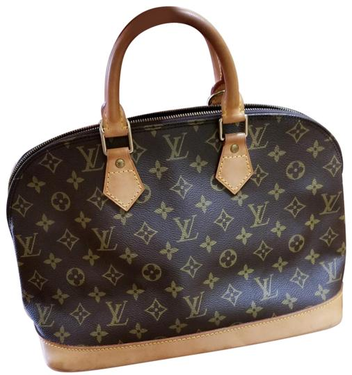 Preload https://img-static.tradesy.com/item/23999541/louis-vuitton-alma-pm-brown-cowhide-leather-satchel-0-1-540-540.jpg