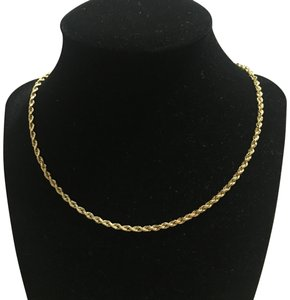 14k Necklace 14k rope chain