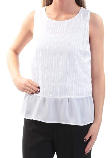 Maison Jules Office Textured Top White
