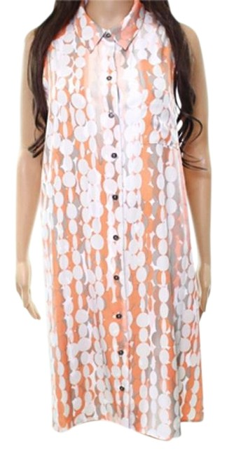 Preload https://img-static.tradesy.com/item/23999617/alfani-orangewhitegray-sleeveless-button-down-shirt-nwot-mid-length-casual-maxi-dress-size-8-m-0-1-650-650.jpg