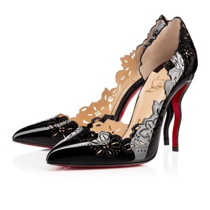 Christian Louboutin Beloved Limited Edition Laser Classic Patent Black Pumps
