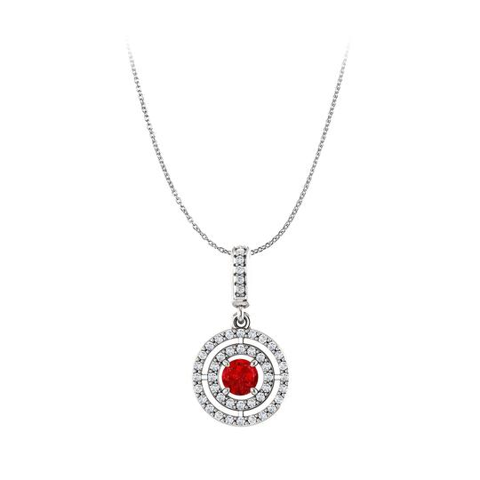 Preload https://img-static.tradesy.com/item/23999770/red-round-ruby-and-cubic-zirconia-double-circle-pendant-earrings-0-0-540-540.jpg